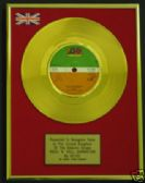 "AC/DC  - 7"" 24 Carat Gold Disc ROCK 'N' ROLL  DAMNATION"